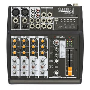 Mesa de Som Soundcraft SX 602 FX-USB